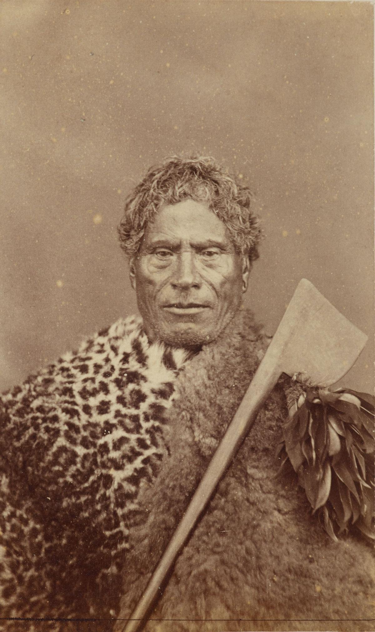 Unknown Photographer Nopera Te Ngiha 1860 1880 Carte De Visite Albumen Silver Print Papa O041394